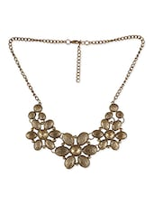 Gold 100% Metal Alloy Necklace - By