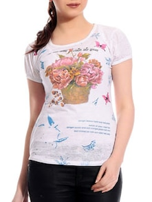 Printed Cotton Top - TAB91