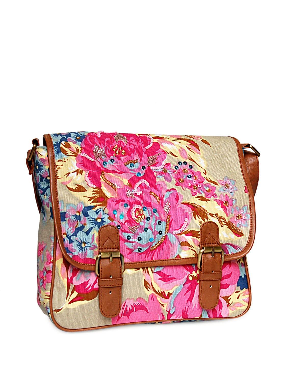 Buy Floral Sling Bag by Shaun Design - Online shopping for ...