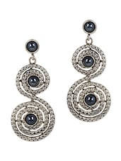 Spiral Bead Embellished Earrings - JEWELIZER