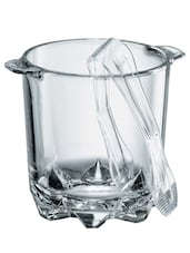 Transparent glass ice bucket -  online shopping for Storage & Buckets