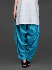 Plain Solid Cotton Patiala Salwar - SHREE - 1017338