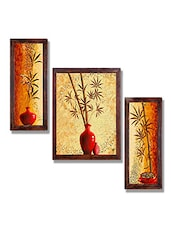 Ray Decor Wall Painting Set Of 3 - By