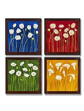 Ray Decor Wall Paintings Set Of 4 -SQSET511 - By
