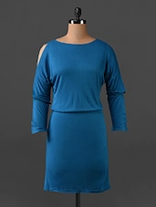 Blue Full Sleeves Dress - Northern Lights