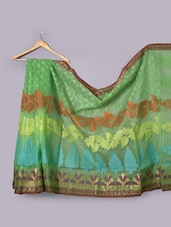 Green Art Silk Saree - Prabha Creations