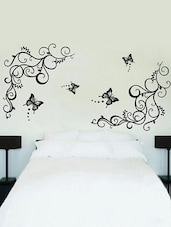 Lovely Black Butterflies Wall Sticker -  online shopping for Wall Decals & Stickers