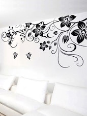 giant floral vine u0026 butterflies wall sticker online shopping for wall decals u0026 stickers - Wall Decals