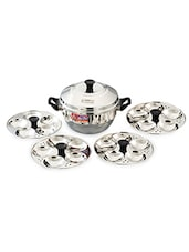 Stainless Steel Idli Maker With 20 Idli Hole - Eurostyle
