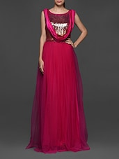 Bright Fuchsia Maxi Dress - Eavan