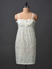 Cotton Printed Night Dress - Citypret