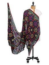 Chiffon Thread Work Dupatta - Dupatta Bazaar