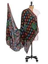 Chiffon Embroidered Dupatta - Dupatta Bazaar
