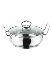 Induction friendly Kadai With Lid -  online shopping for Wok Pans