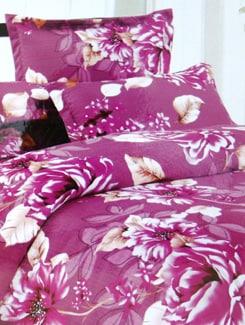 Pink Poly Cotton Bedsheet Set - Aqua Marine 10322