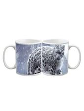 Tiger In Ice Fall Mug - Arcart