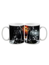 Skull With Fish Mug - Arcart