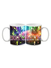 Merry Christmas Colorful Printed Mug - Start Ur Day