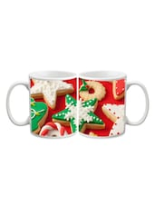 Christmas Star Biscuit Printed Mug - Start Ur Day