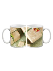 Packed Gift Box With Cherry Printed Mug - Start Ur Day