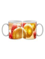 Golden Balls Printed Ceramic Mug - Timepass
