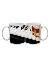 Piano Printed Ceramic Mug - Timepass