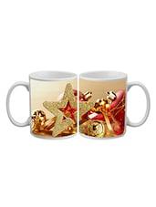 Golden Star Printed Ceramic Mug - Timepass
