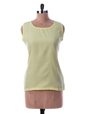 Round Neck Sleeveless Top - Miss Chase
