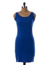 Round Neck Sleeveless Bodycon Dress - Miss Chase
