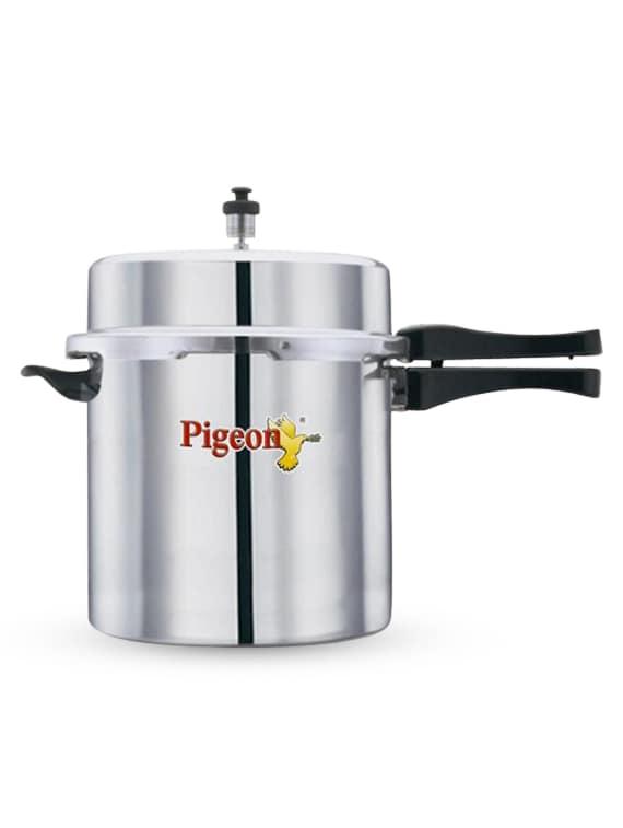 Aluminium 10Ltr Pressure Cooker - Pigeon