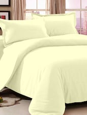 Plain Solid Cotton Bed Sheet Set - Story @ Home