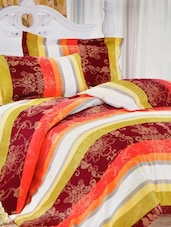 Polyester Print  Double Bed Sheet