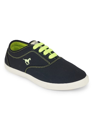 blue leatherette sneakers - Online Shopping for Sneakers