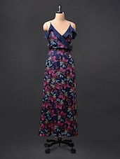 Floral Camisole Neck  Maxi Dress - STREET 9
