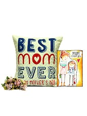 Best Mom Cushion With Card - GIFTS111063 - By