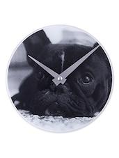 Little Dog Glass Wall Clock - NeXtime
