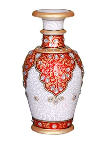Marble Flower Vase - Single PCs