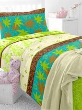 Multiprint Cotton Single Bedsheet Set - Dreamscape