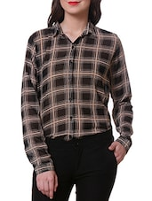 Full Sleeve Checked Shirt - Purys