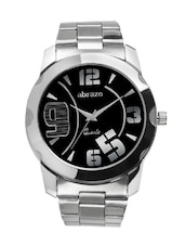 black colored metal alloy quartz watch -  online shopping for Analog Watches