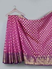 Jacquard Weave Cotton Silk Saree - BANARASI STYLE