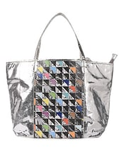 Digital Printed Vegan Leather Tote - ARTychoke