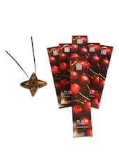 Pack Of 6 Black Cherry Incense Sticks - Hosley