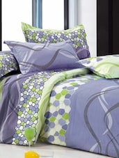 Printed Poly-cotton Single Bedsheet Set - Bedline Home