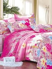 Pink Multiprint Single Bedsheet Set - Bedline Home