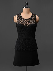 Sleeveless Polyester Dress - Feyona