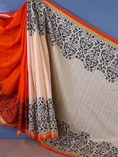 Elegant Bhagalpuri Silk Printed Saree - Style Mania