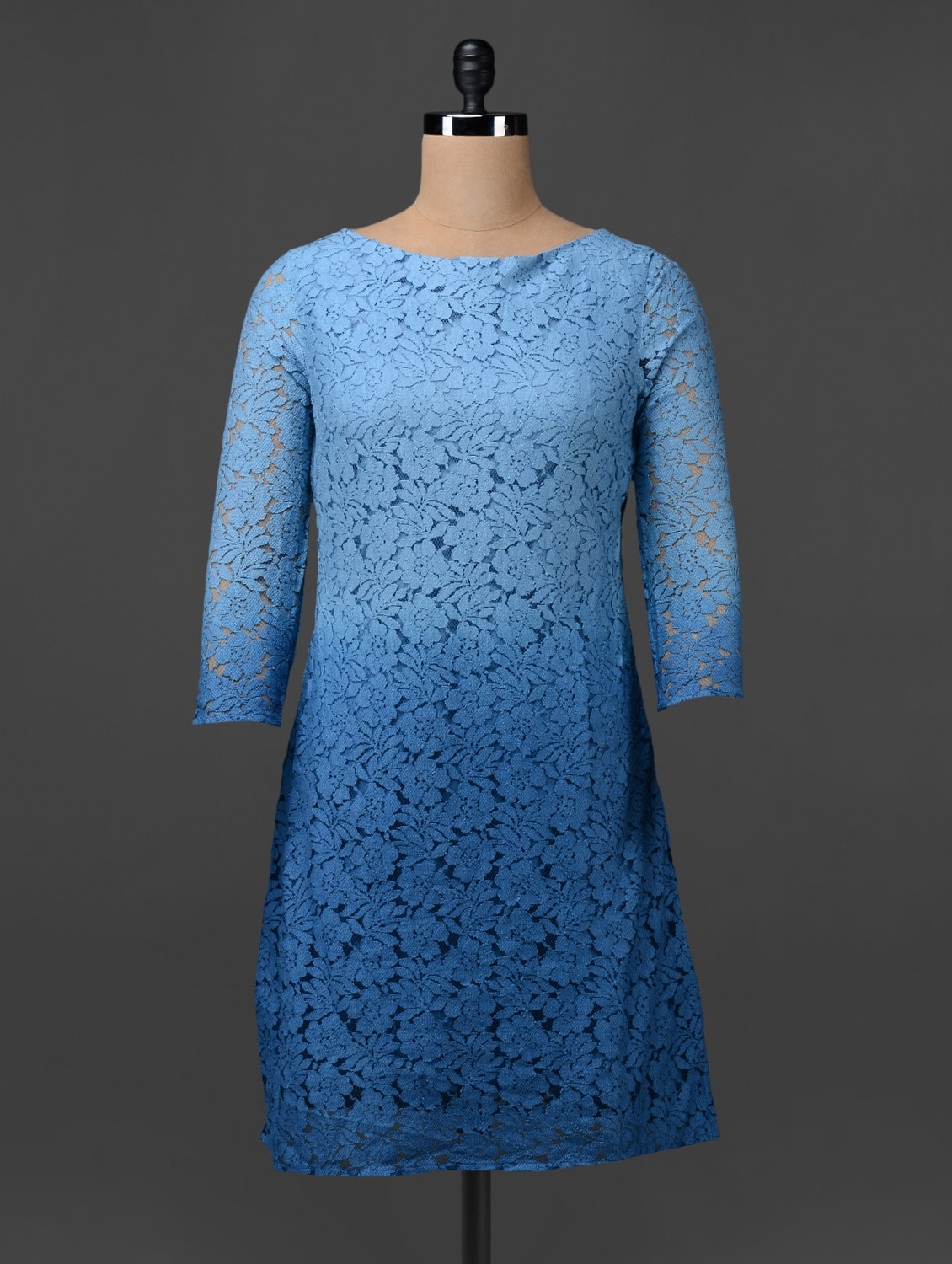 Ombre Cotton Lace Dress - Colbrii