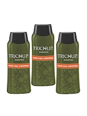Trichup Hair Fall Control Herbal Hair Shampoo  (200 Ml) (Pack Of 3) - By