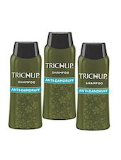 Trichup Anti Dandruff Shampoo (200ml) (Pack of 3) -  online shopping for shampoo